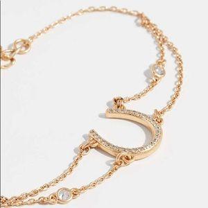 kate spade Jewelry - SALE Kate Spade Wild Ones Pave Horseshoe Bracelet